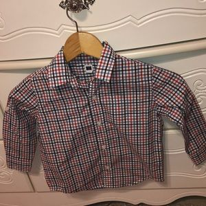 🐳Janie and Jack GUC size3 Boys button down shirt
